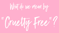 Lindsey Love Beauty - What is Cruelty Free?