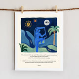 Rumi Poem (Set of 3 prints)