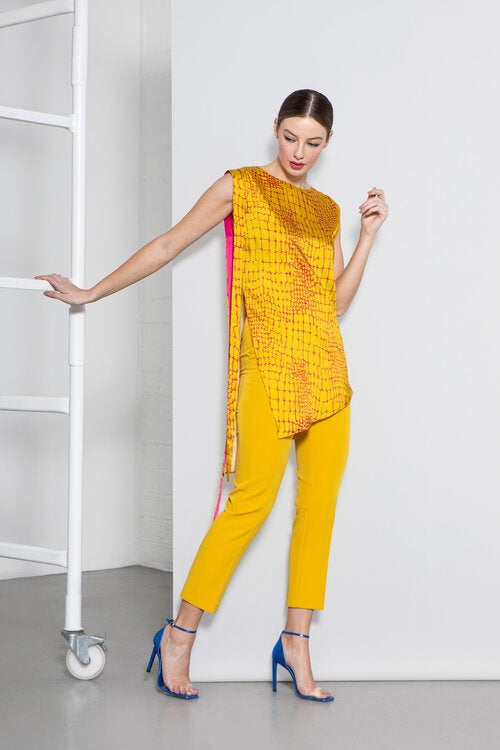 Desi Trousers in Mustard