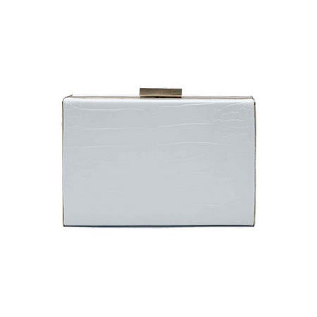 White Caterina Crock Bag