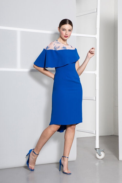 Ivanna Dress in Blue