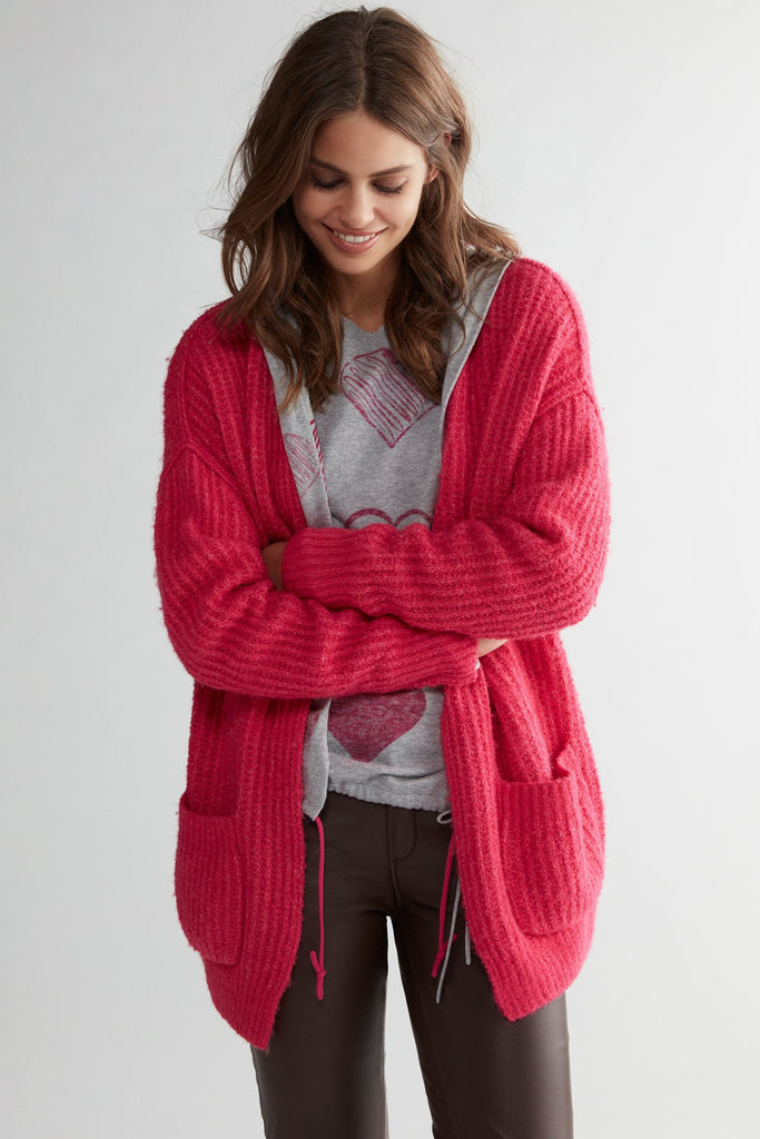 Hooded Casual Cardigan