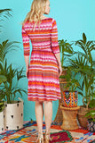 Chaplin Dress in Bia Orange