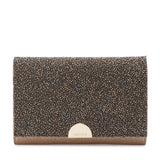 Dolce Embellished Fold Over Clutch