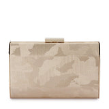 Bae Metallic Camo Clutch