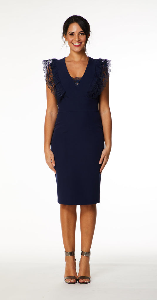 Sofia Dress in Navy