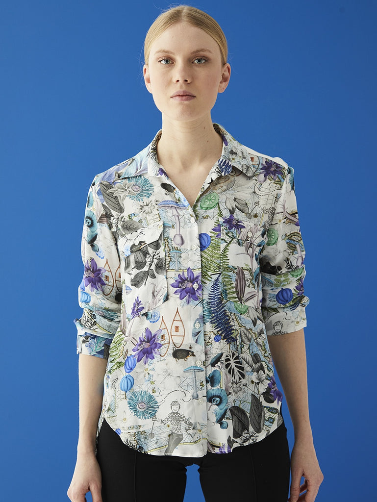 Gabriella Shirt in North Polar Print