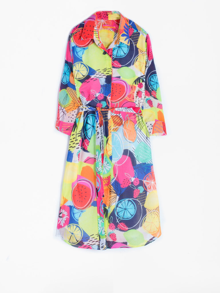 Adriana Dress in Panema Print