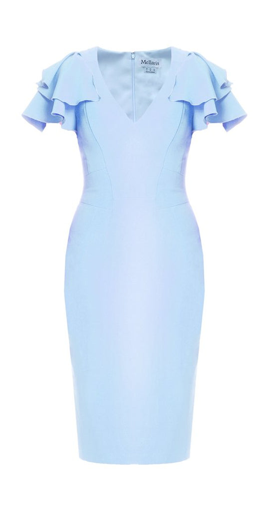 Bella Dress in Sky Blue
