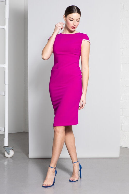 Noemi Dress in Purple