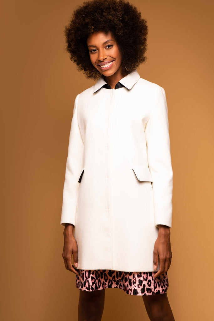 Bailey Coat in Ivory
