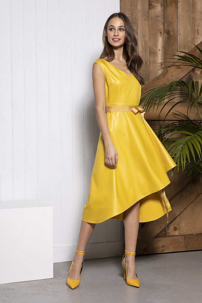 Cali Dress in Mustard
