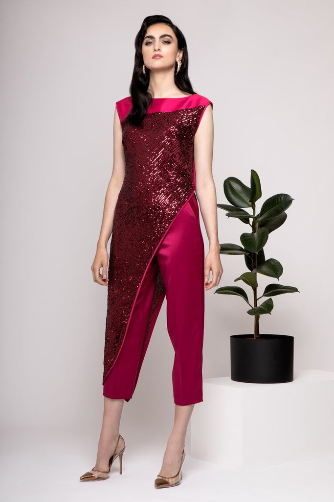 Zenna Trousers in Pink