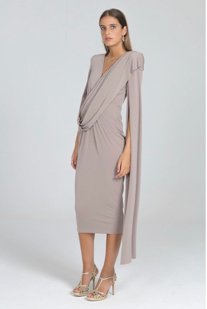 Casilda Dress in Cinder