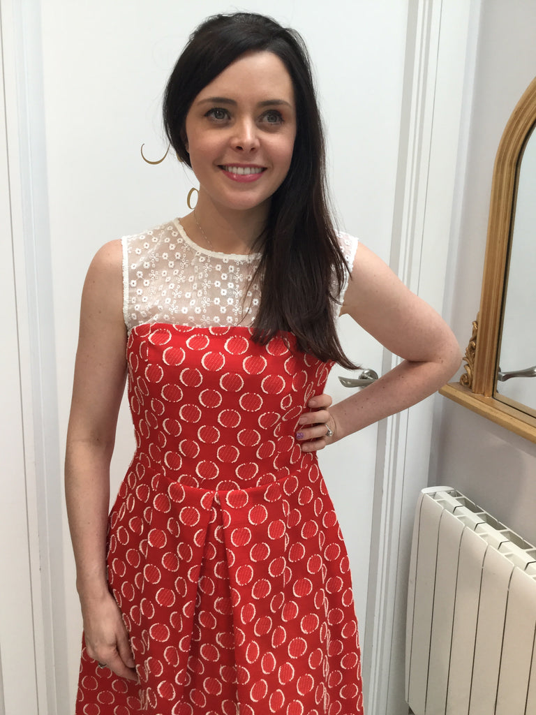 Lux Dress in Red