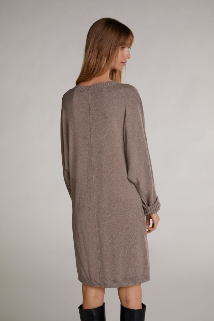 Sweater Dress in Biscuit Colour