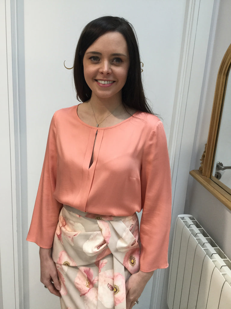 Peach Lightweight Blouse