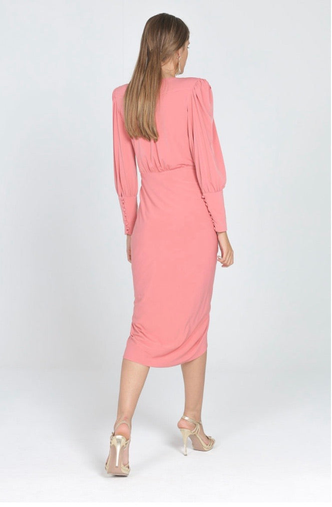 Isabella Dress in Desert Rose