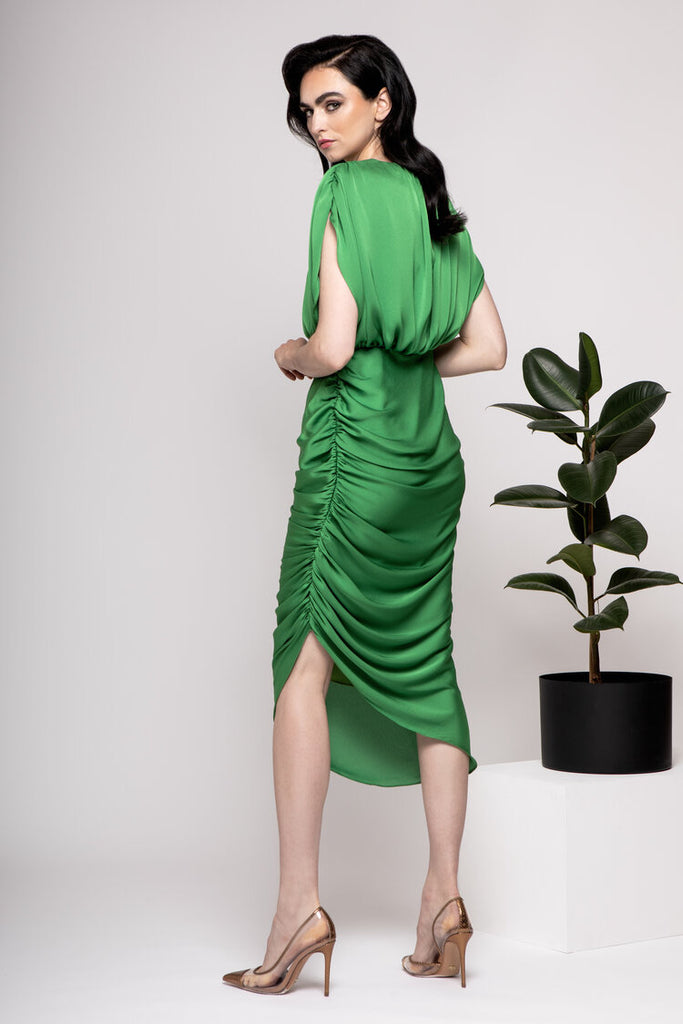 Lily Dress in Green