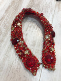 Large Collar - Red Gold