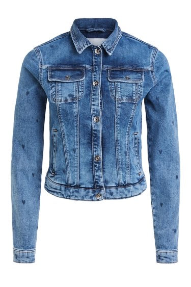 LOVE HEART Denim Jacket