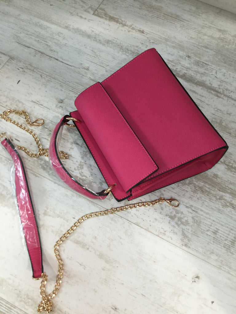 Fuchsia Veronica Bag
