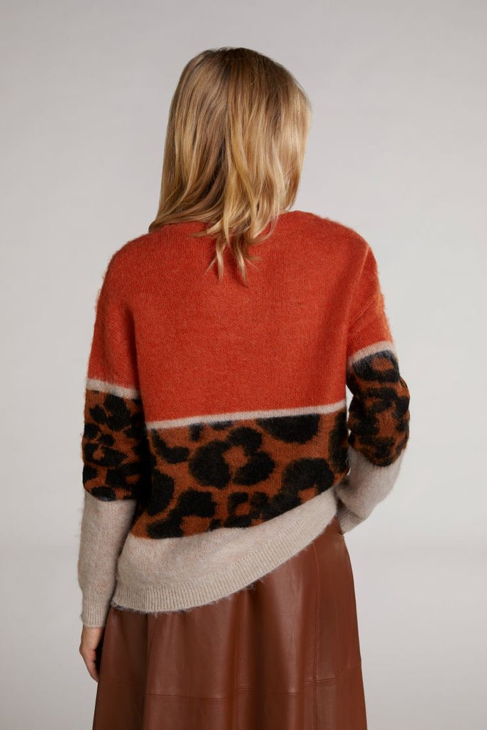 Wool and Mohair Blend Sweater