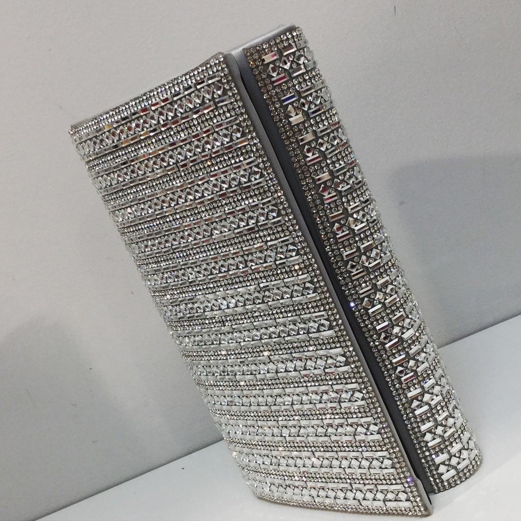 Liliana Silver Sparkle Bag