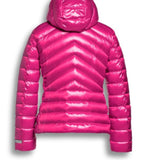 Light Weight Hooded Jacket in Magenta