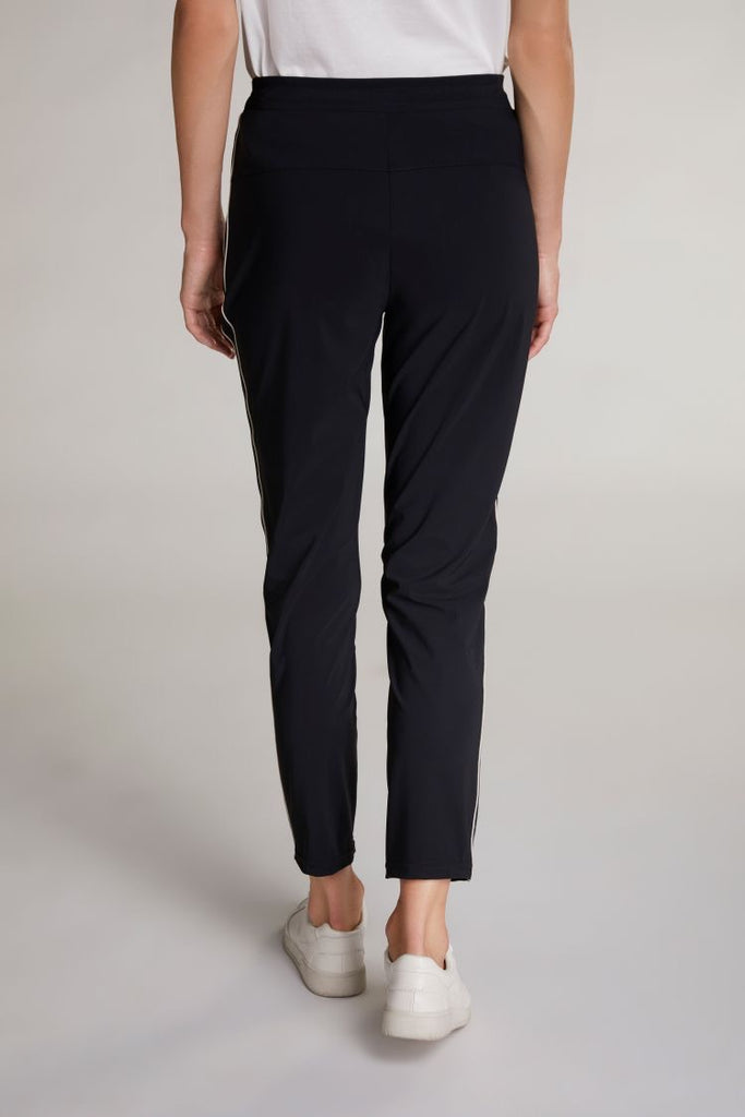 Jogger Pants with Stripe Detail