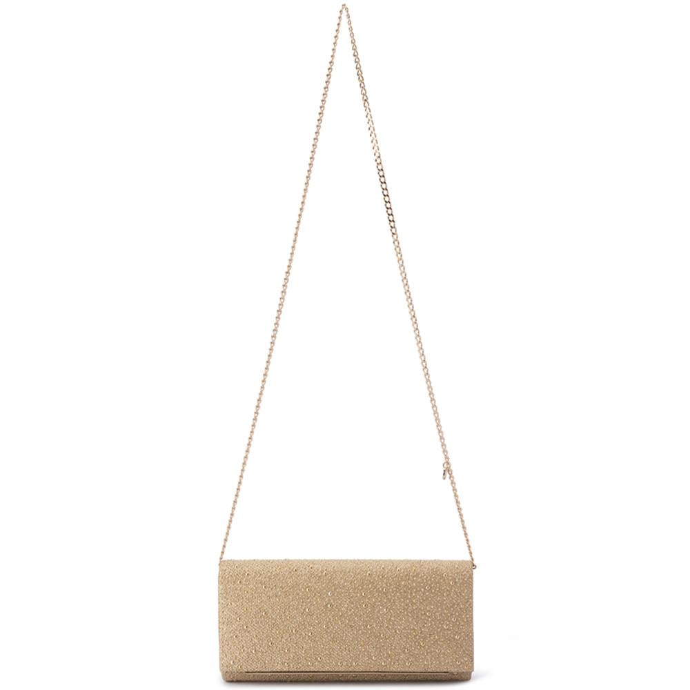 Gold Isobel Hotfix Bag