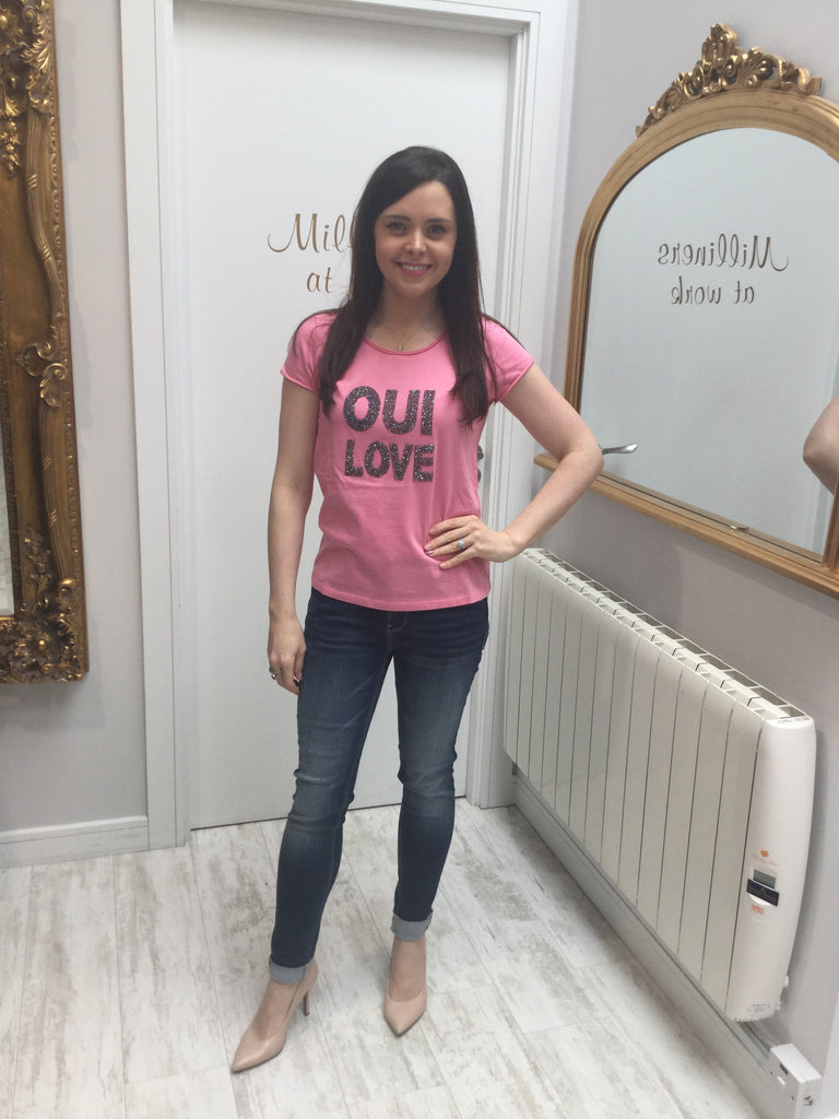 OUI Love T-shirt 66466