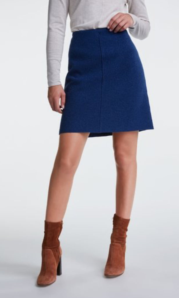 Teddy Wool Mini Skirt