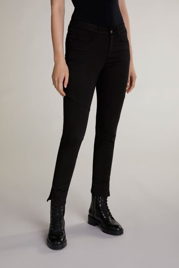 Black Trousers with Studs