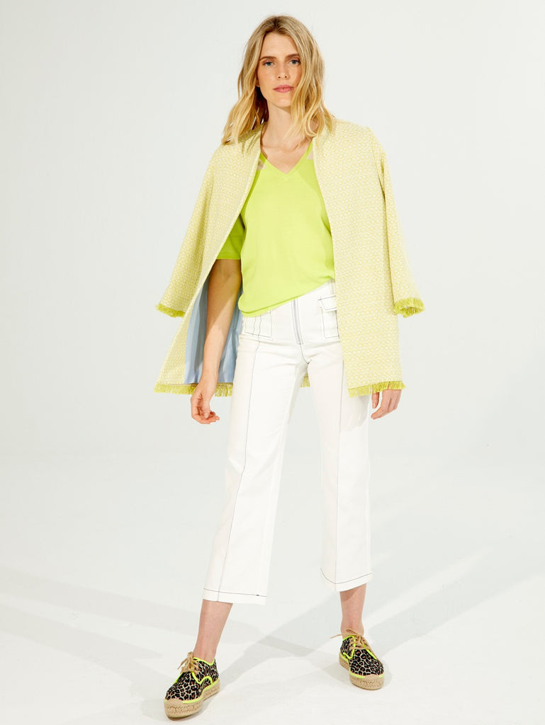 Juliet Coat in Lime