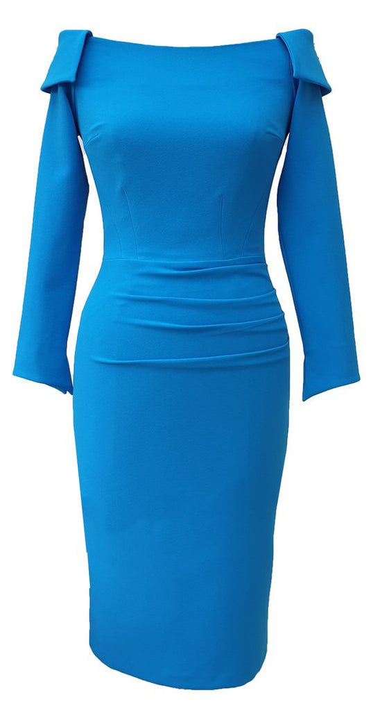 Larvik Dress in Marina Blue