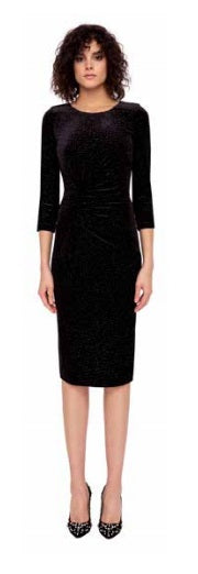 Black Velvet Stary Night Dress
