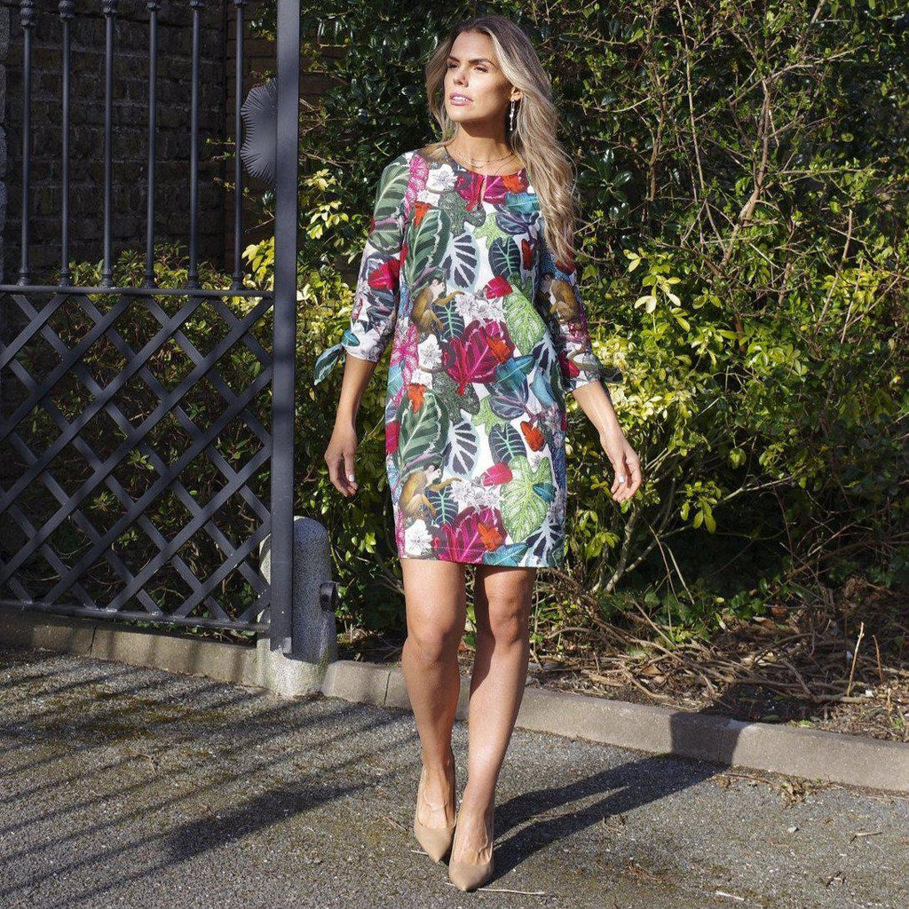 Agnes Dress in Nilsson Print