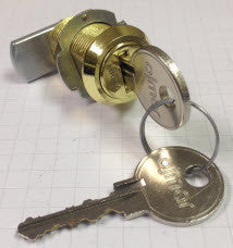 Key Lock - Brass (O)
