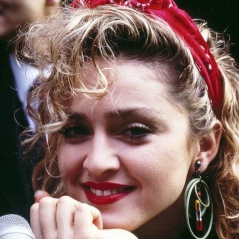 madonna-with-red-bandana