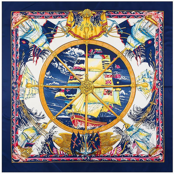 Imperial-Ship-Bandana-navy-blue