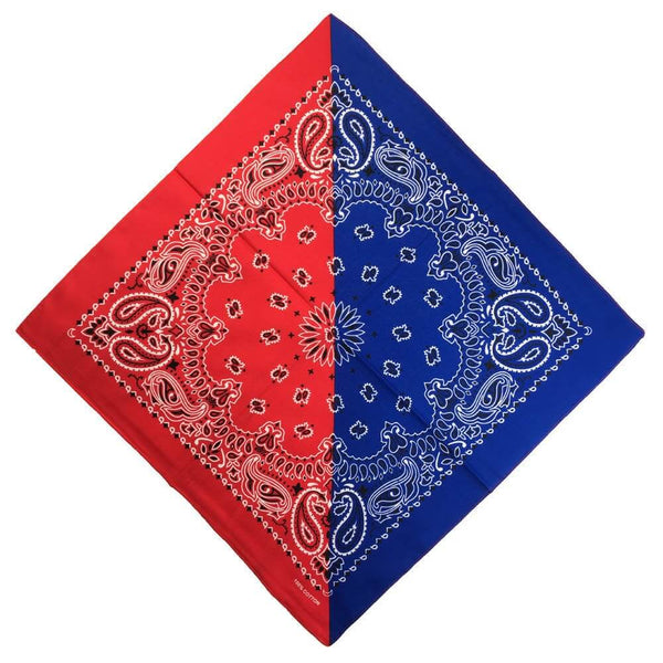 Red-and-Blue-Bandana