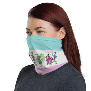 Women Dancers Neck Gaiter
