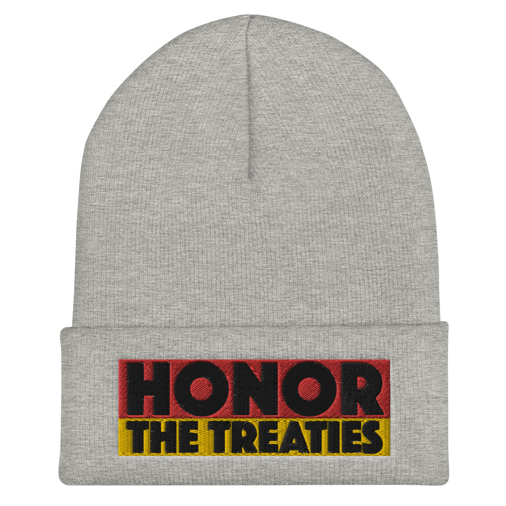 Honor the Treaties Cuffed Beanie