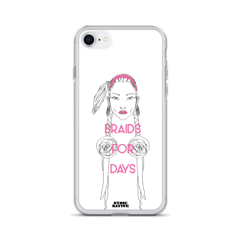 Braid For Days iPhone Case