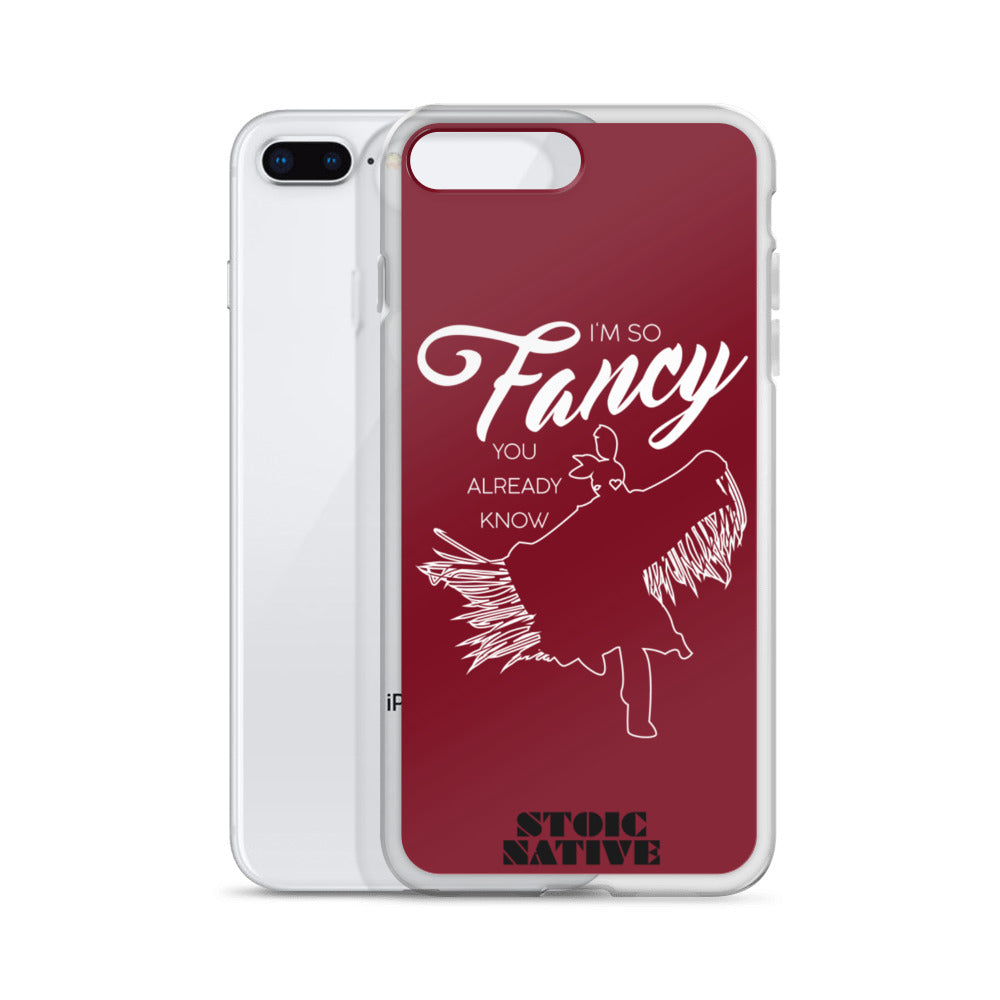 I'm So Fancy iPhone Case