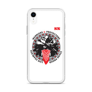 Warriors and Protectors Badge iPhone Case