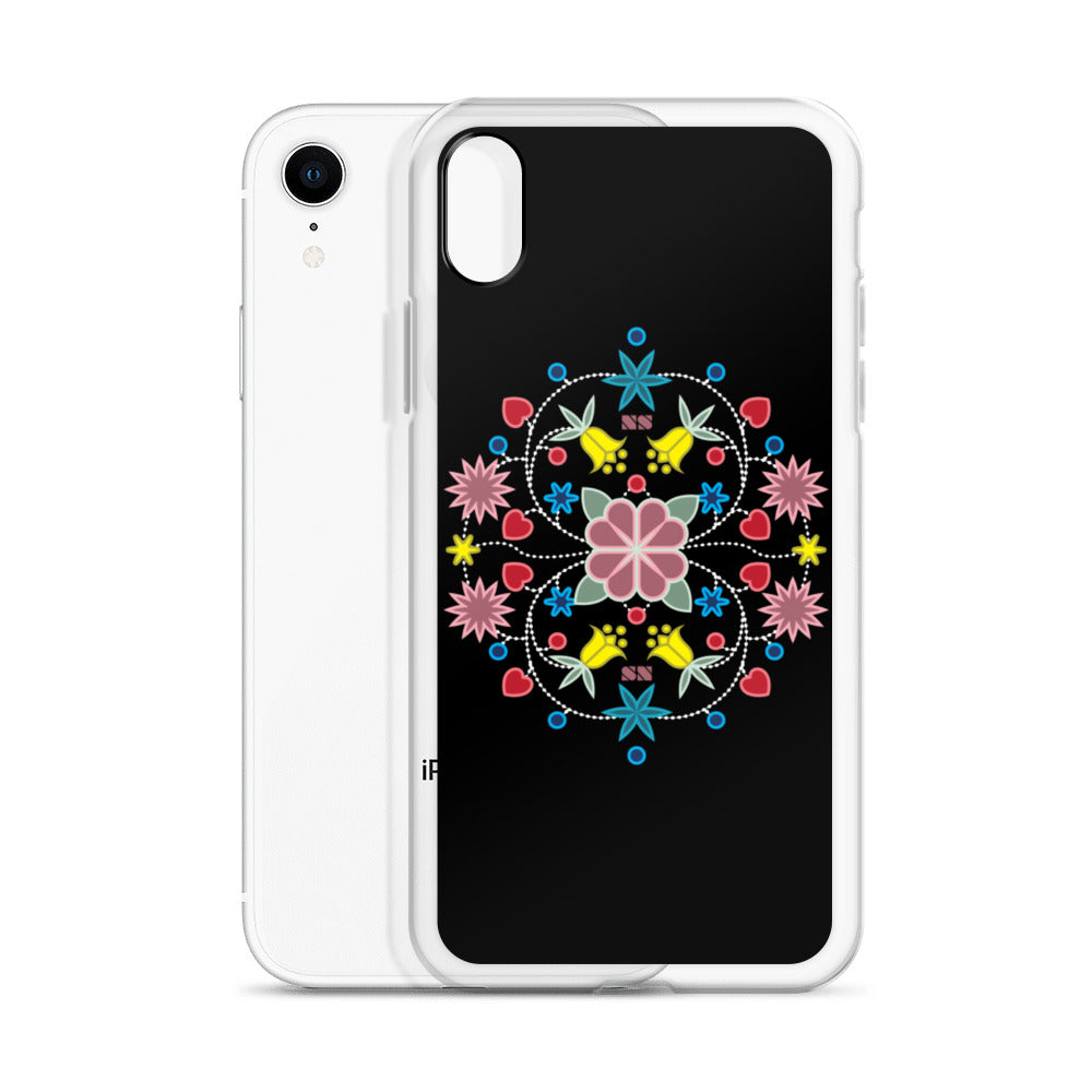 Native Floral Badge iPhone Case