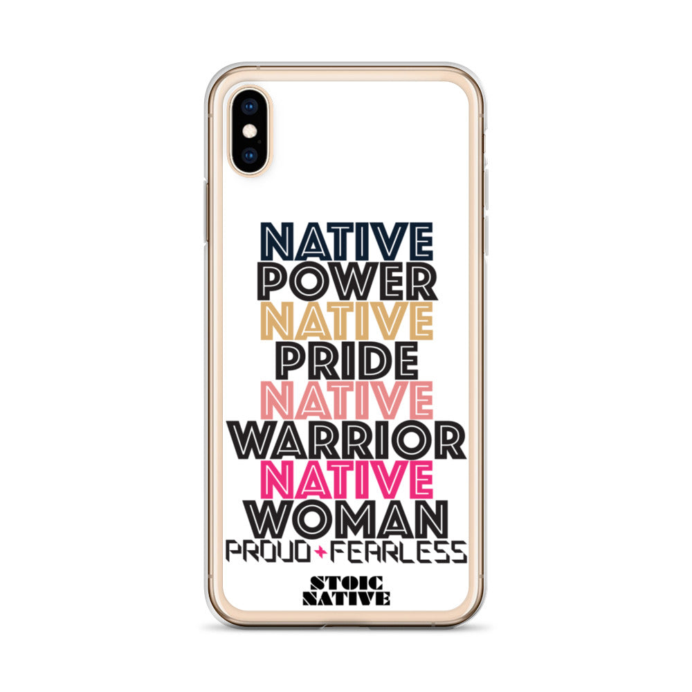 Native Power iPhone Case