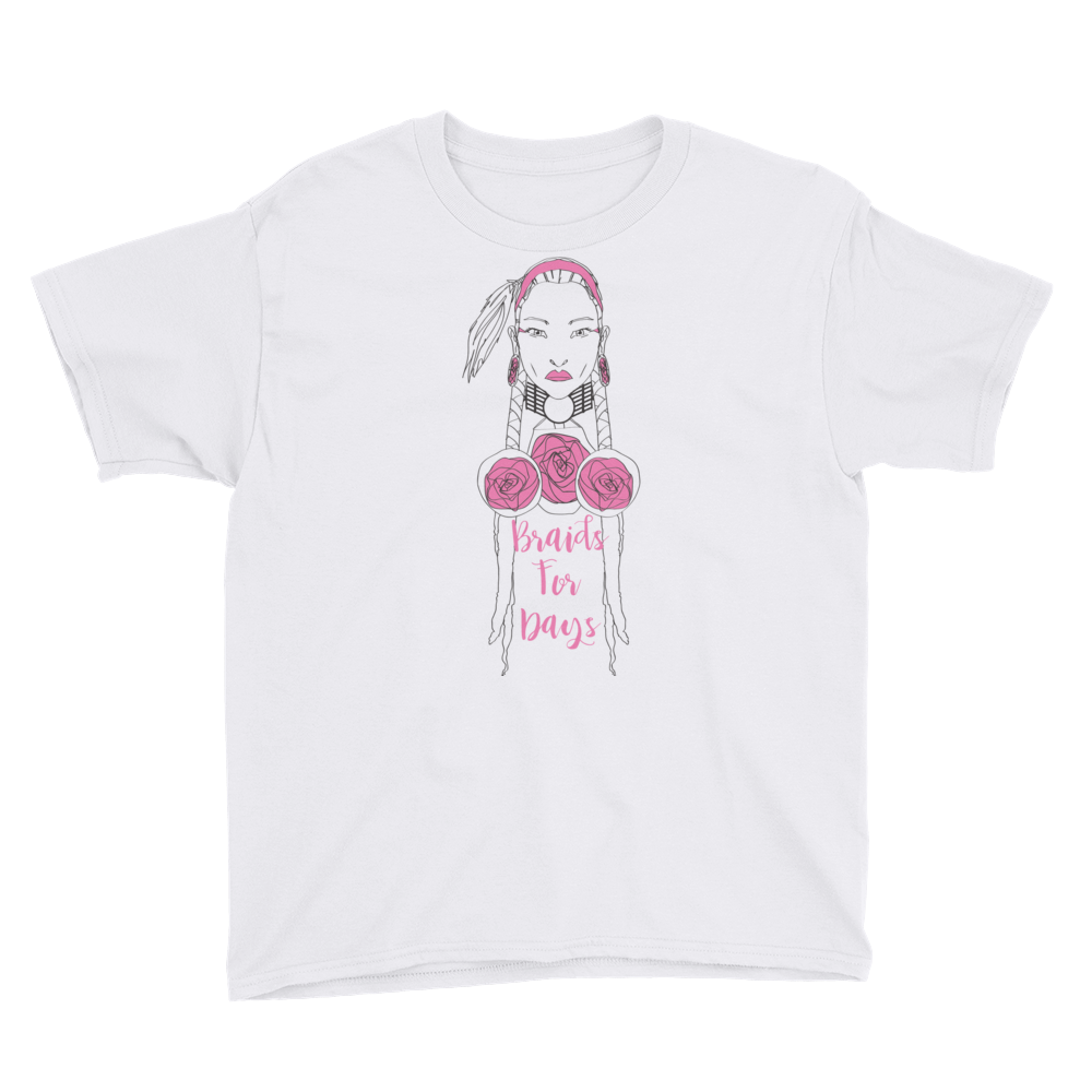 Youth Braids for Days T-Shirt
